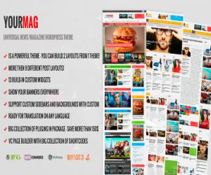 YourMag - Universal WordPress News/Magazine Theme
