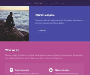 Template website Hyperspace