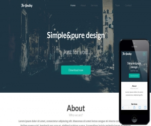 The Landing Page