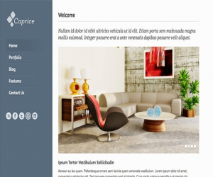 Caprice –  HTML Template