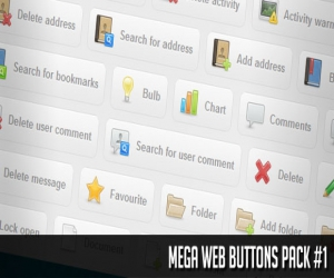 MEGA WEB BUTTONS PACK #1