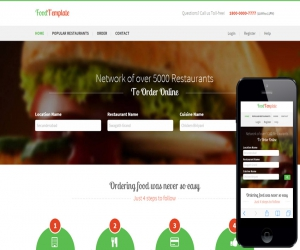 Food Template a Restaurant