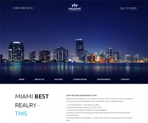 Miami a Flat Style Resorts Bootstrap Responsive web template