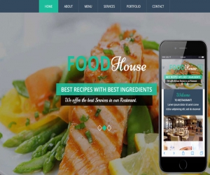 Food House a Hotel Category Flat Bootstrap Responsive Web Template