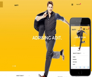 Suity a Flat Ecommerce Bootstrap Responsive Web Template