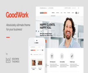 Modern Responsive Multi-Purpose WordPress Theme