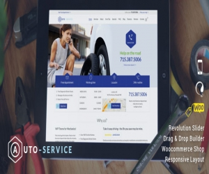 Auto Car Repair – Mechanic Shop Responsive WordPress Theme