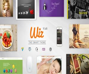 Wiz - The Smart Multi-Purpose WordPress Theme