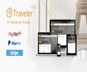 Traveler - Travel/Tour/Booking WordPress Theme