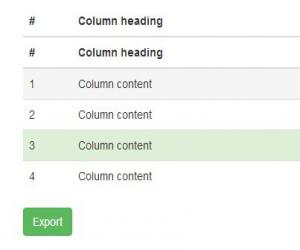 Export Html Table To Excel Spreadsheet using jQuery - table2excel
