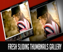 FRESH SLIDING THUMBNAILS GALLERY WITH JQUERY AND PHP