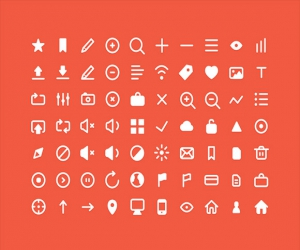 70 PSD small icons
