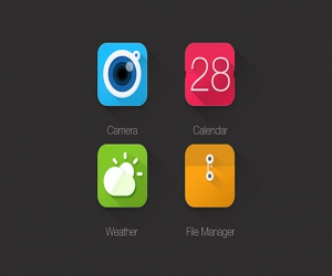 4  icons for apps