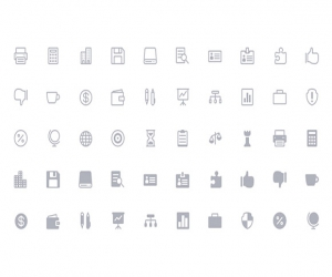 The Eleganted 360 flat vector Icon (SVG)