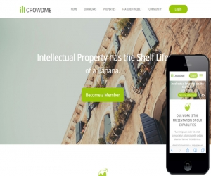 Icrowdme a Single Page Multipurpose