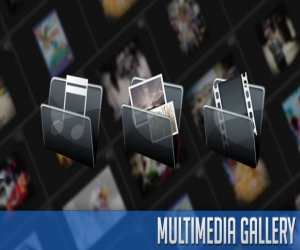 MULTIMEDIA GALLERY FOR IMAGES, VIDEO AND AUDIO