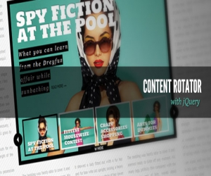 CONTENT ROTATOR WITH JQUERY