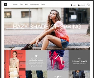 Fashion Flat ECommerce template