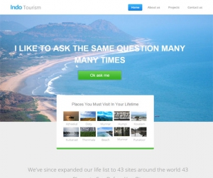 Indo Tourism a Travel Responsive template