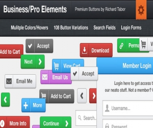 Business CSS3 Buttons and Elements