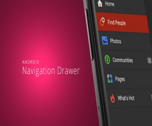 Android Sliding Menu using Navigation Drawer