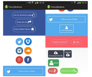 Android FancyButtons
