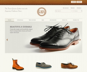 Shoes Shopping Gaia a Flat ECommerce Bootstrap Responsive Web Template