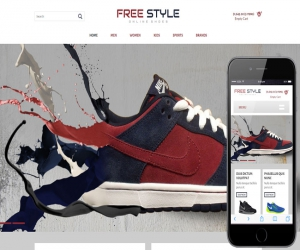 Shoe style a Flat Ecommerce Bootstrap Responsive Web Template