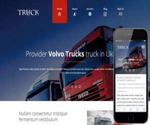 Truck a Auto Mobile Category Flat Bootstrap Responsive Web Template
